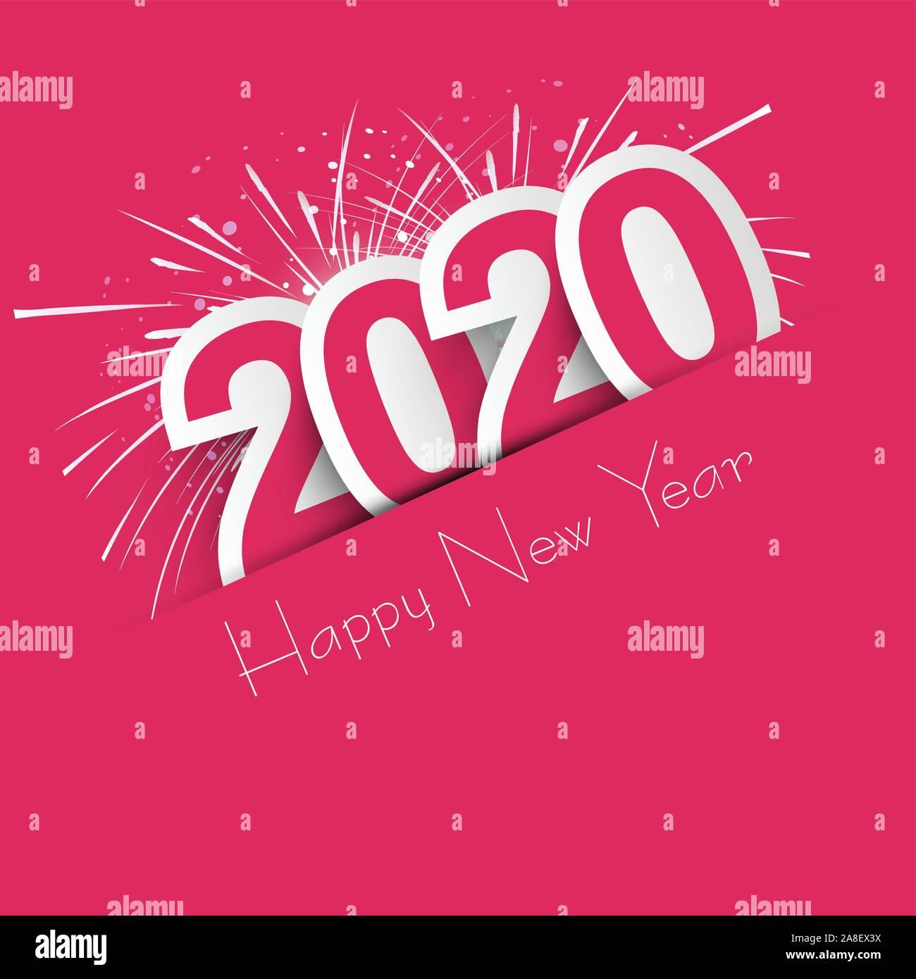 happy new year 2020 2020 wishes happy new year 2020 celebrating 2020 calendar vector illustration stock vector image art alamy https www alamy com happy new year 2020 2020 wishes happy new year 2020 celebrating 2020 calendar vector illustration image332242062 html