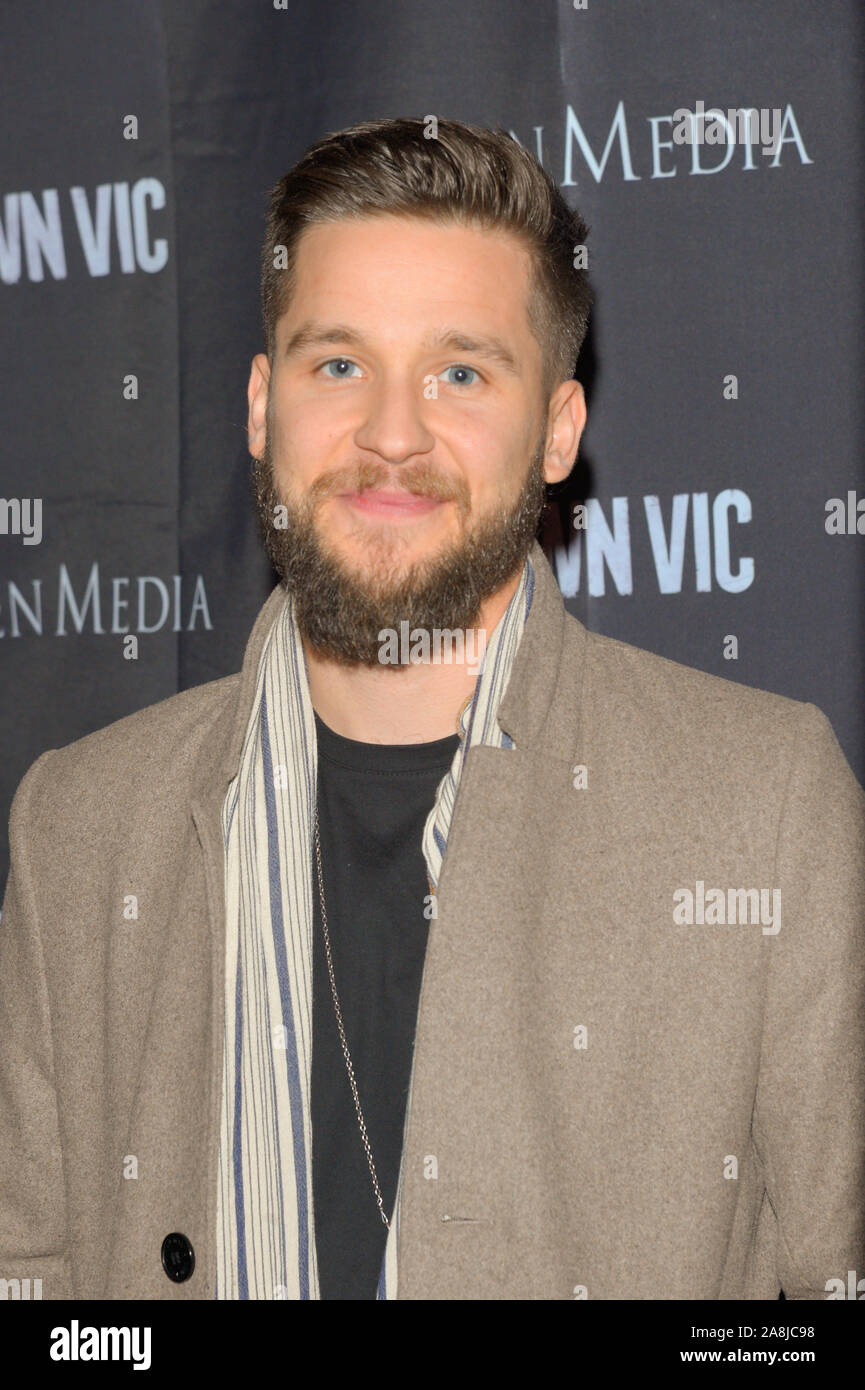 New York Ny November 06 Actor Devon Werkheiser Attends The Crown Vic New York Screening At Village East Cinema On November 06 2019 In New York Stock Photo Alamy