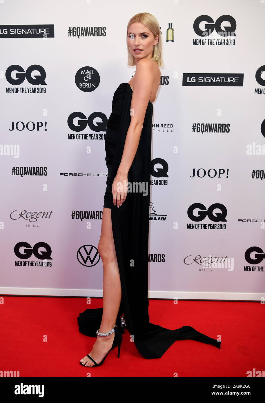 Berlin Germany 07th Nov 2019 Lena Gercke Comes To The