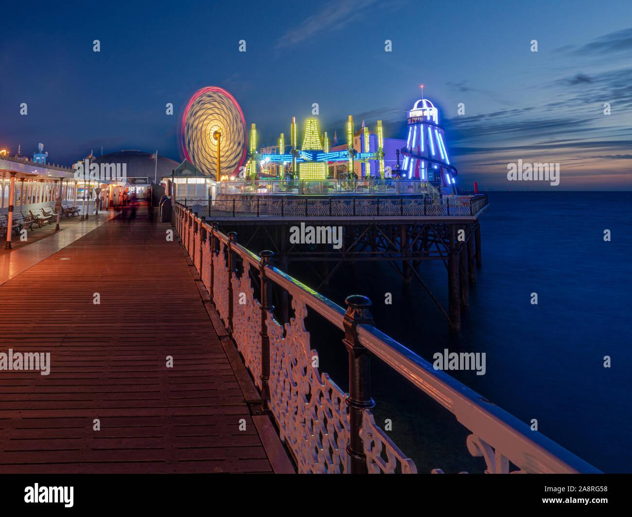 Brighton Palace Pier Stock Photo