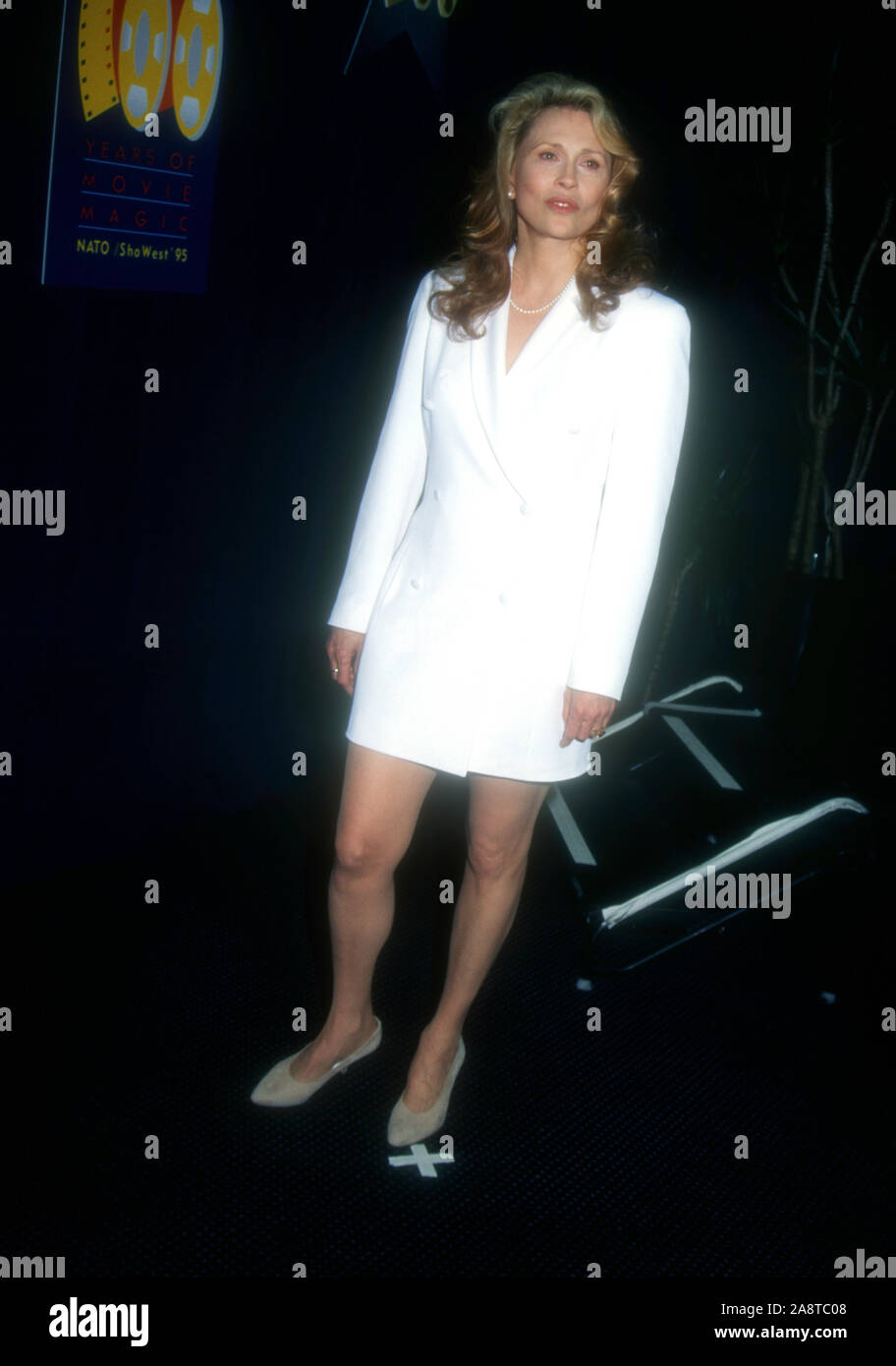 Las Vegas, Nevada, USA 9th March 1995 Actress Faye Dunaway attends the 1995 NATO/ShoWest Convention on March 9, 1995 at Bally's Hotel & Casino in Las Vegas, Nevada, USA. Photo by Barry King/Alamy Stock Photo Stock Photo