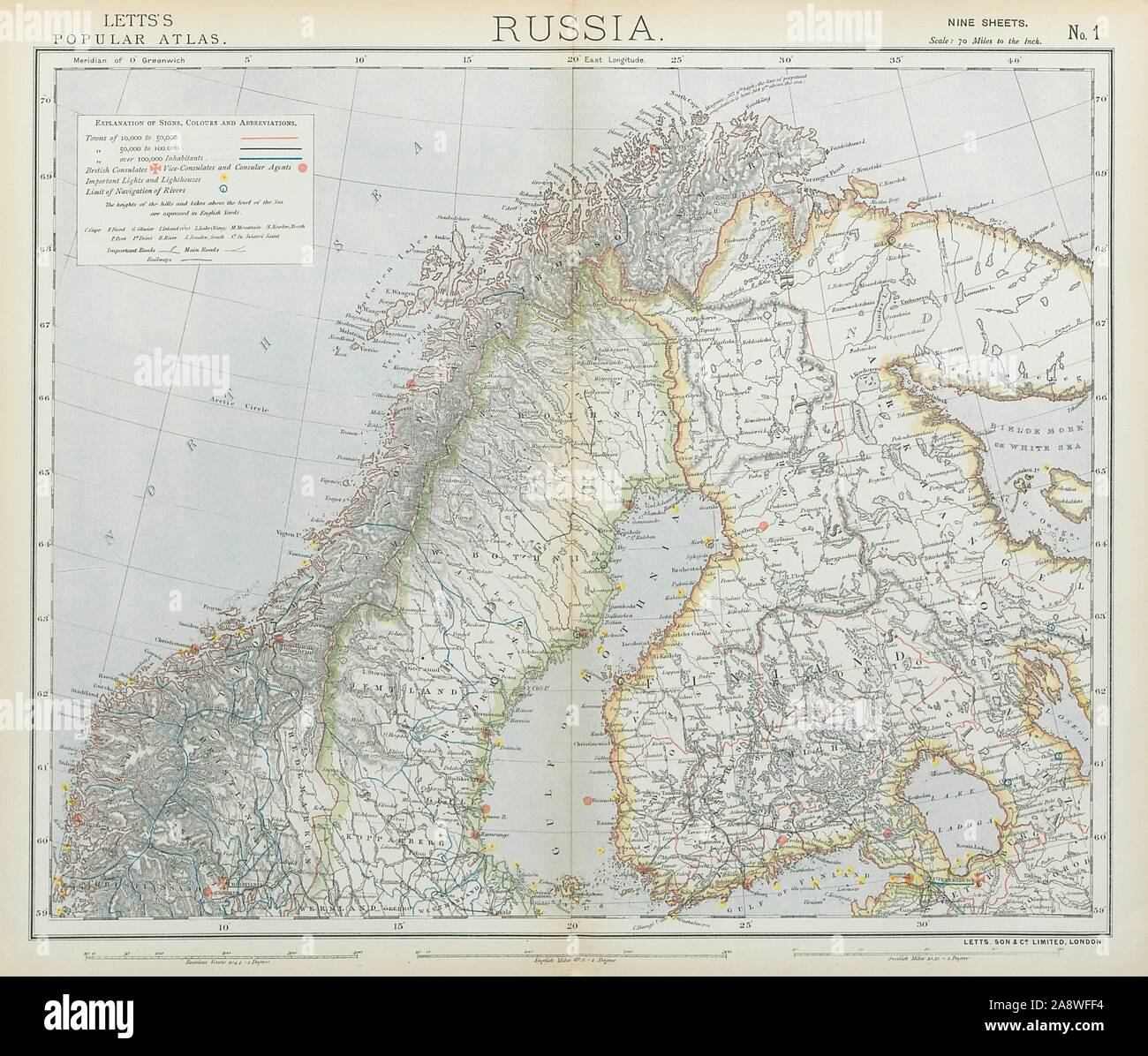 Map And Norway And Sweden And Finland High Resolution Stock Photography And Images Alamy