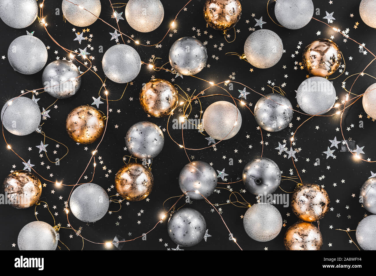Merry Christmas Images In Gold And Silver 2020 Happy New year 2020. Merry Christmas and Happy Holidays greeting