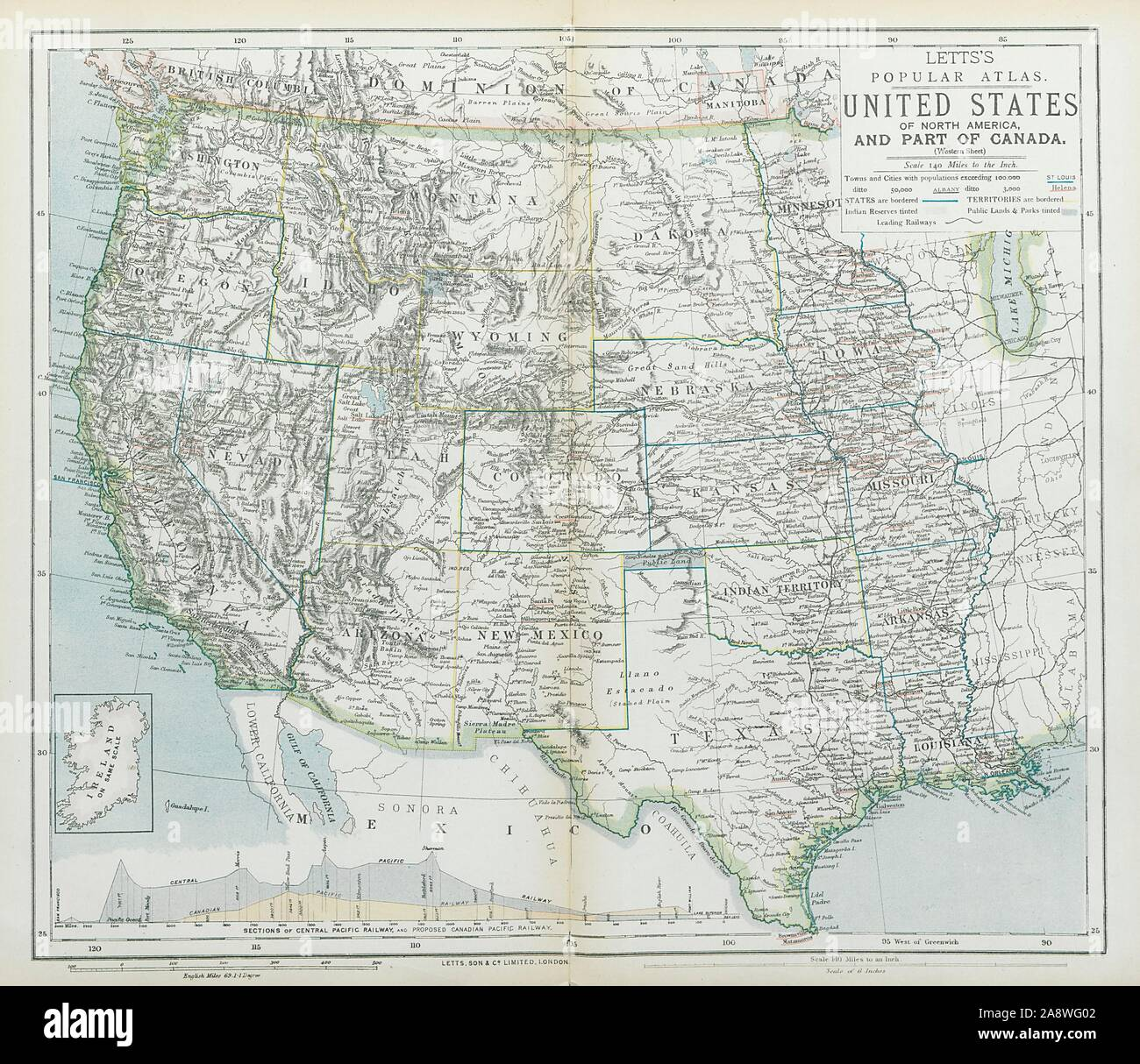 WESTERN USA States & territories Central Pacific Railroad ... on central pacific leviathan, chesapeake and ohio railway map, los angeles and salt lake railroad, union pacific colorado route map, union pacific railroad, chicago rapid transit map, northern pacific railway, western railroads map, modoc northern railroad, denver and rio grande western railroad, uintah railway, central pacific jupiter, comstock lode, canadian national railway map, leland stanford, maine central railroad map, sego, utah, michigan central railroad map, jay gould, northern pacific railway map, central pacific train, union pacific system map, northern pacific route map, jersey central railroad map, new york central railroad map, western pacific railroad, golden spike, penn central railroad map, central pacific coast costa rica map, texas central railway map, central illinois map, collis p. huntington, oregon short line railroad, union pacific california map, atchison, topeka and santa fe railway, great western railway of colorado, great northern railway, southern pacific railroad, first transcontinental railroad,