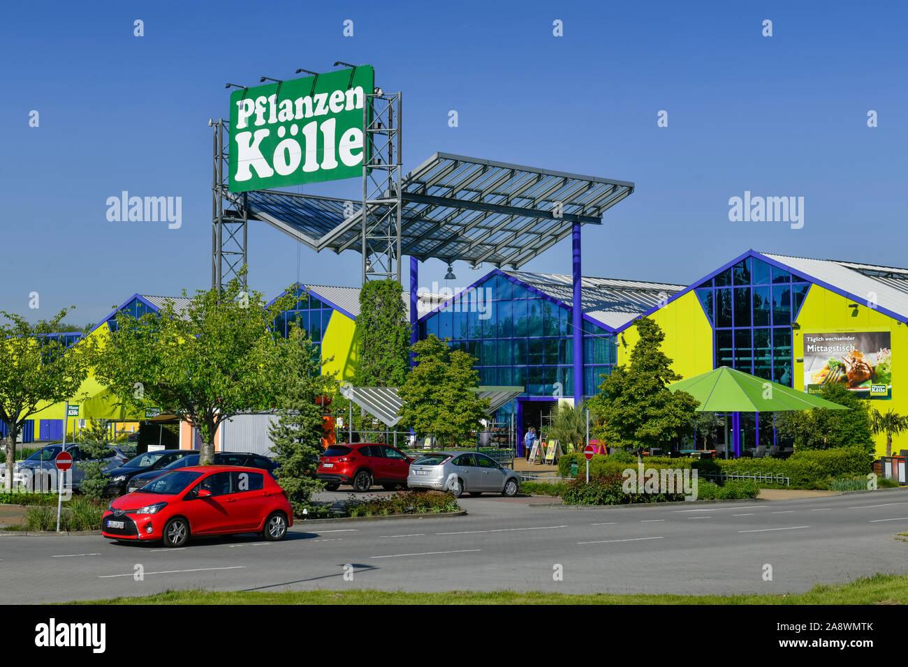 Pflanzen Kölle, A10 Shoppingcenter, Brandenburg, Deutschland Stock Photo