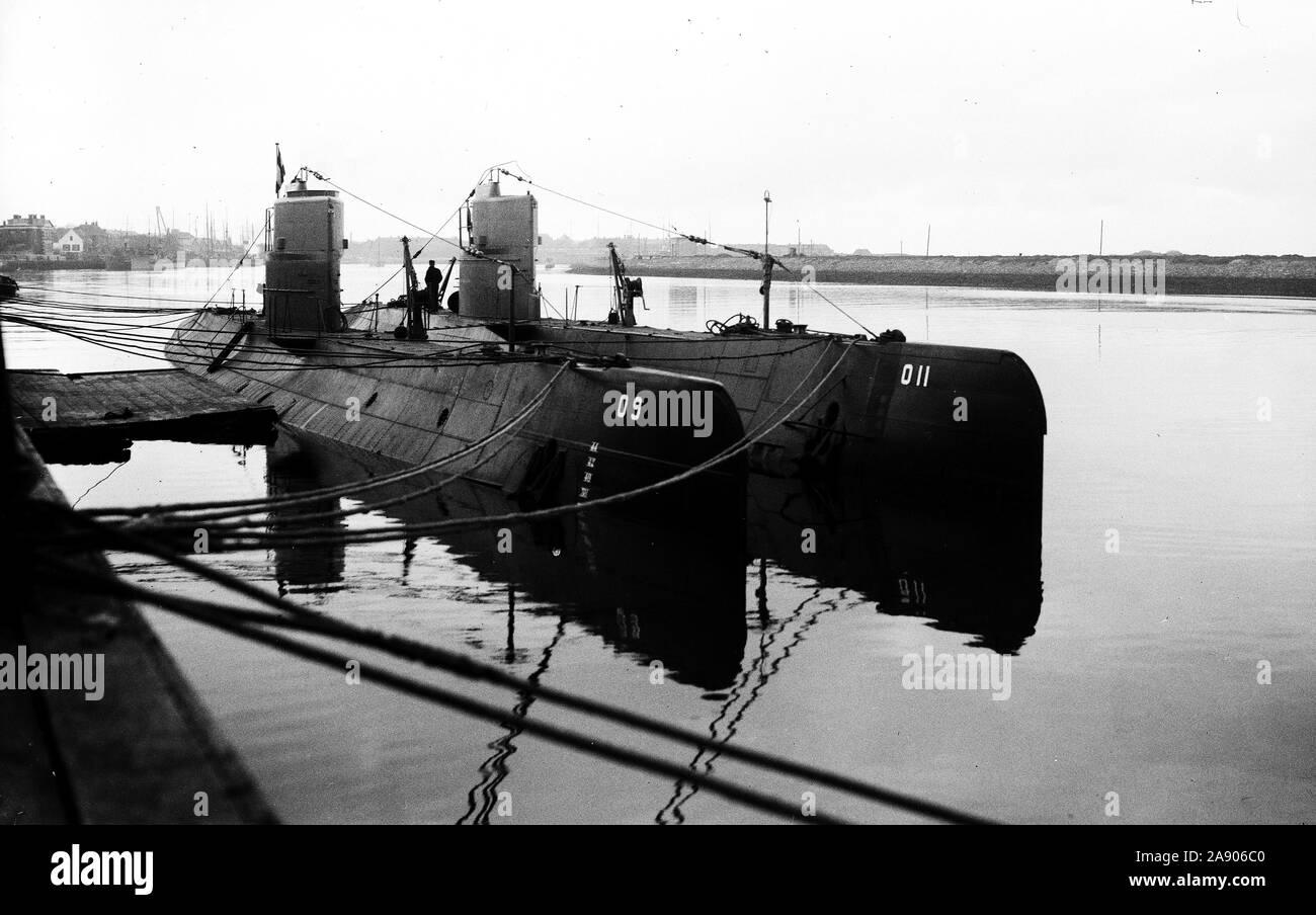 U-BOAT SUBMARINE SHIPYARD  Howaldtswerke Germany 1943 HDW Thyssen Krupp
