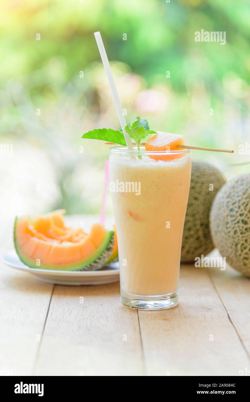 Milk Melon Smoothie In Glass Stock Photo Alamy This healthy smoothie recipe is the perfect way to cool off in the summer when cantaloupe is at its peak, adding plenty of sweetness to this healthy. https www alamy com milk melon smoothie in glass image332535292 html
