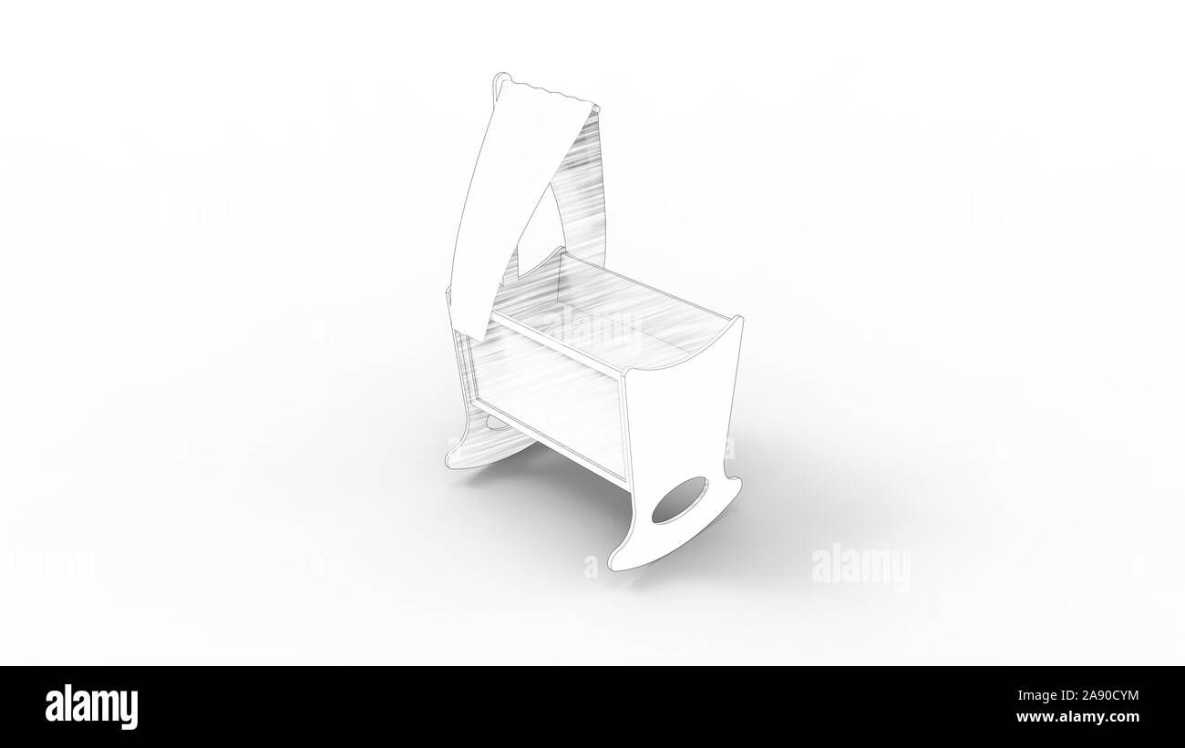 Strange Empty Baby Cot Black And White Stock Photos Images Alamy Ibusinesslaw Wood Chair Design Ideas Ibusinesslaworg