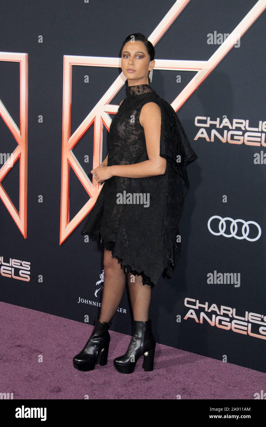 "Los Angeles, California, USA. 11th November, 2019. 11/11/2019 ""Charlie's Angels"" Premiere held at the Regency Village Theatre in Westwood, CA Photo by Kazuki Hirata/HollywoodNewsWire.co Credit: Hollywood News Wire Inc./Alamy Live News Stock Photo"