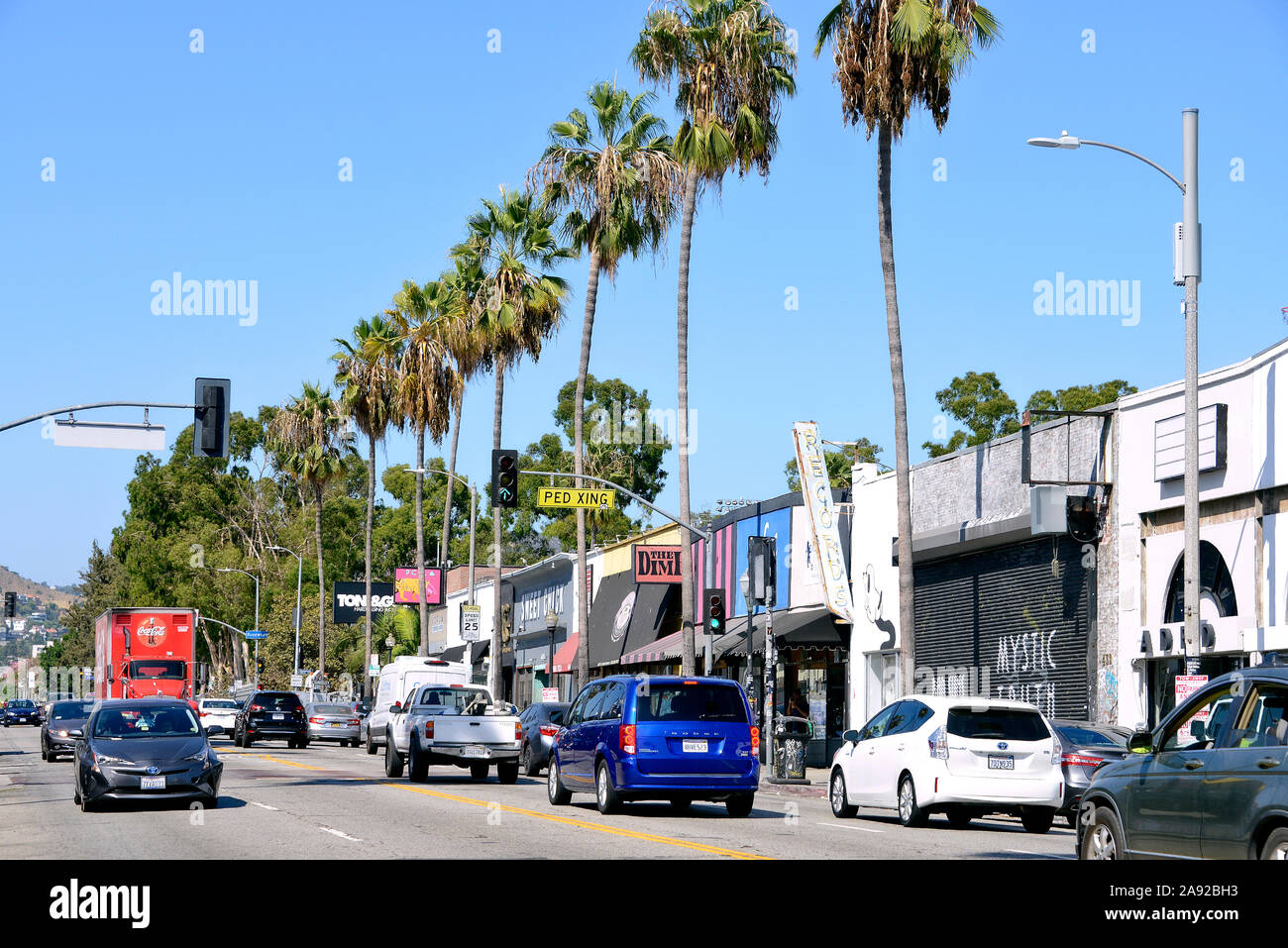 Fairfax Avenue High Resolution Stock Photography And Images Alamy