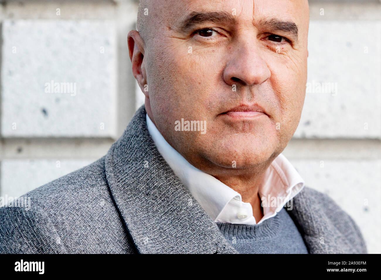 Amsterdam 12 11 2019 Portrait Of Crime Reporter John Van Den Heuvel Stock Photo Alamy