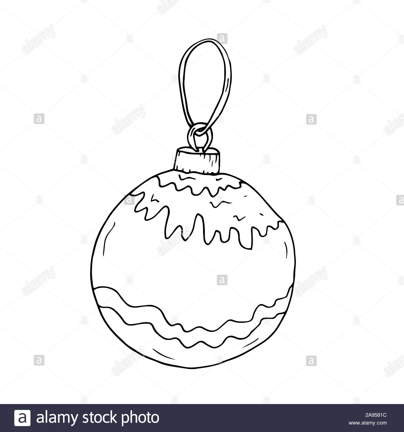 Element for for decoration holiday cards and invitations to the winter holidays. Isolated on white. Stock Vector