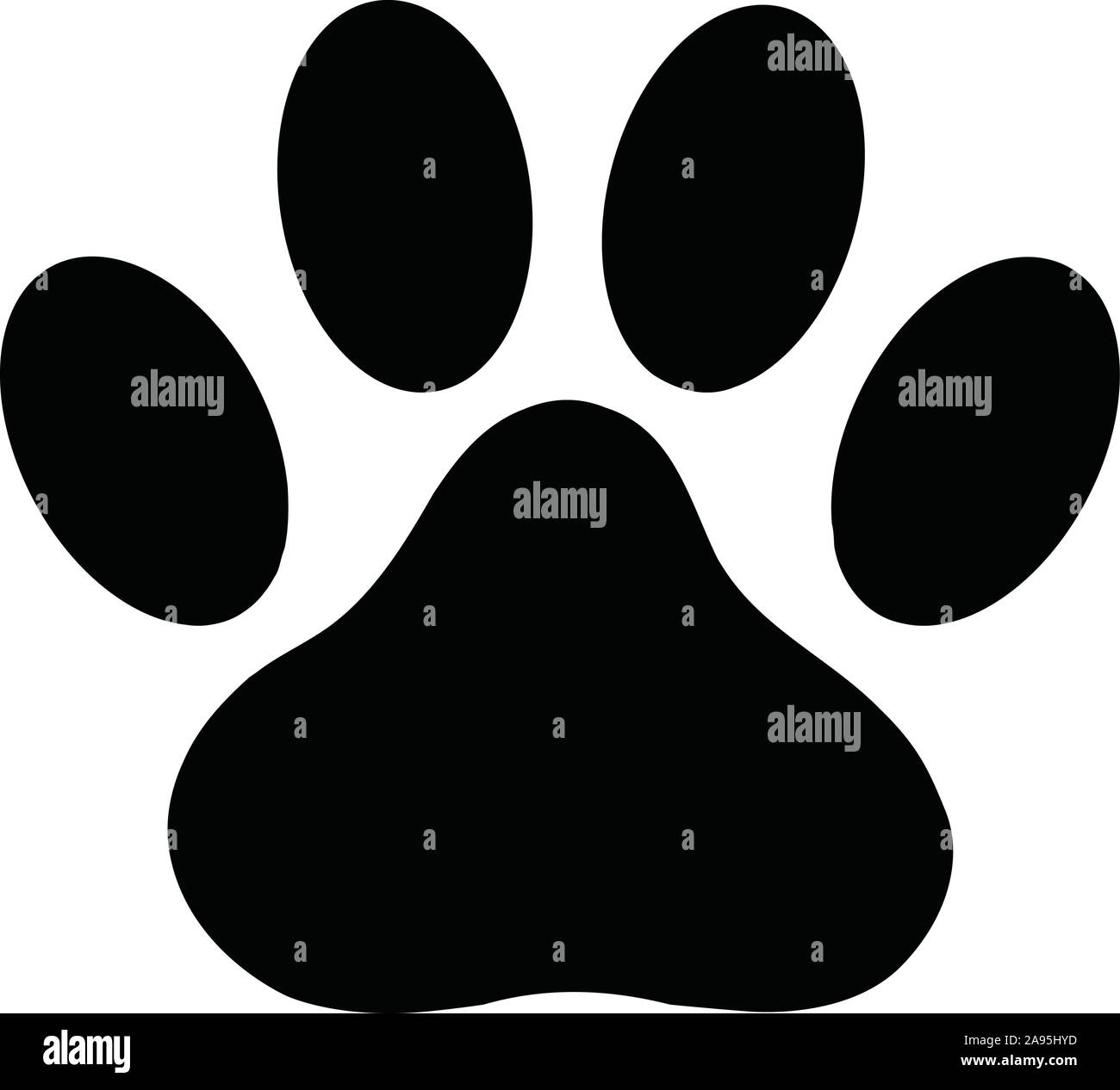 Black Paw Print High Resolution Stock Photography And Images Alamy Black silhouette of a paw print, isolated. https www alamy com black paw print icon on white background flat style dog or cat paw print icon for your web site design logo app ui animal track symbol foot and image332652753 html