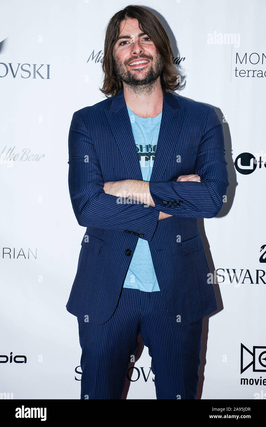 New York City, United States. 12th Nov, 2019. MANHATTAN, NEW YORK CITY, NEW YORK, USA - NOVEMBER 12: Robert Schwartzman arrives at the New York Premiere Of Utopia's 'Mickey And The Bear' held at Mondrian Terrace Park Avenue on November 12, 2019 in Manhattan, New York City, New York, United States. (Photo by William Perez/Image Press Agency) Credit: Image Press Agency/Alamy Live News Stock Photo