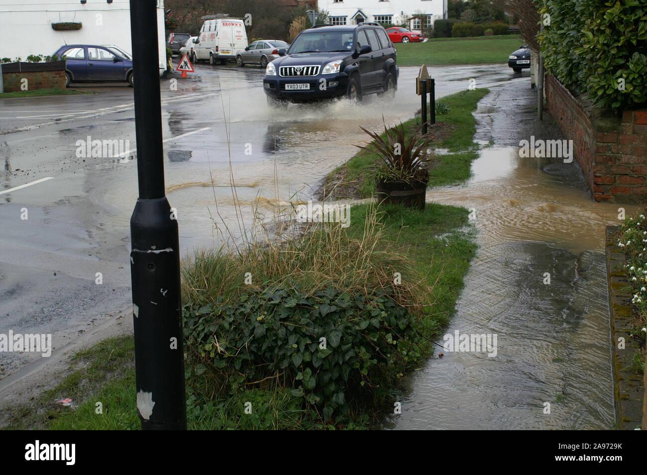 Flooding, South yorkshire Stock Photo