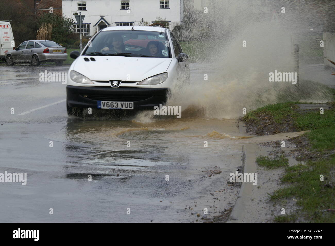 Flooding, South yorkshire Stock Photo