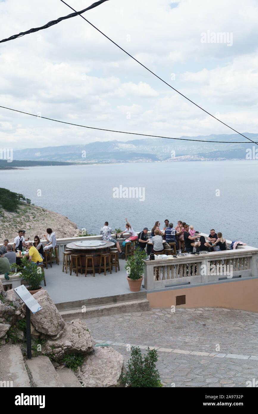 Konoba Nada, on Krk island, Croatia Stock Photo
