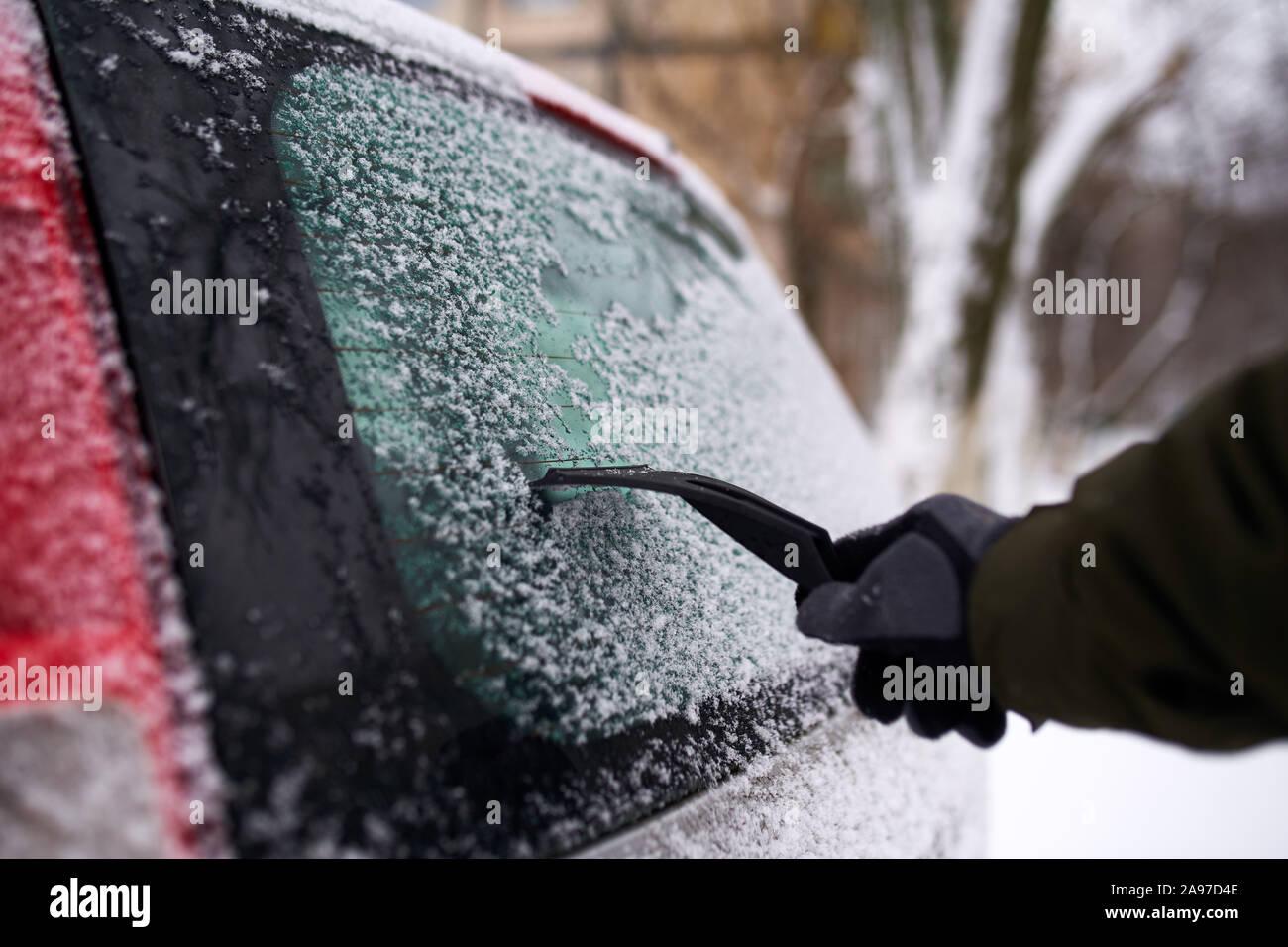 Window Snow And Ice Scraper