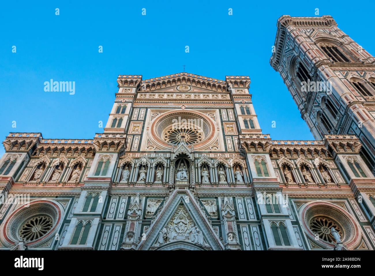 The Cathedral of Santa Maria del Fiore in Florence, Tuscany, Italy Stock Photo