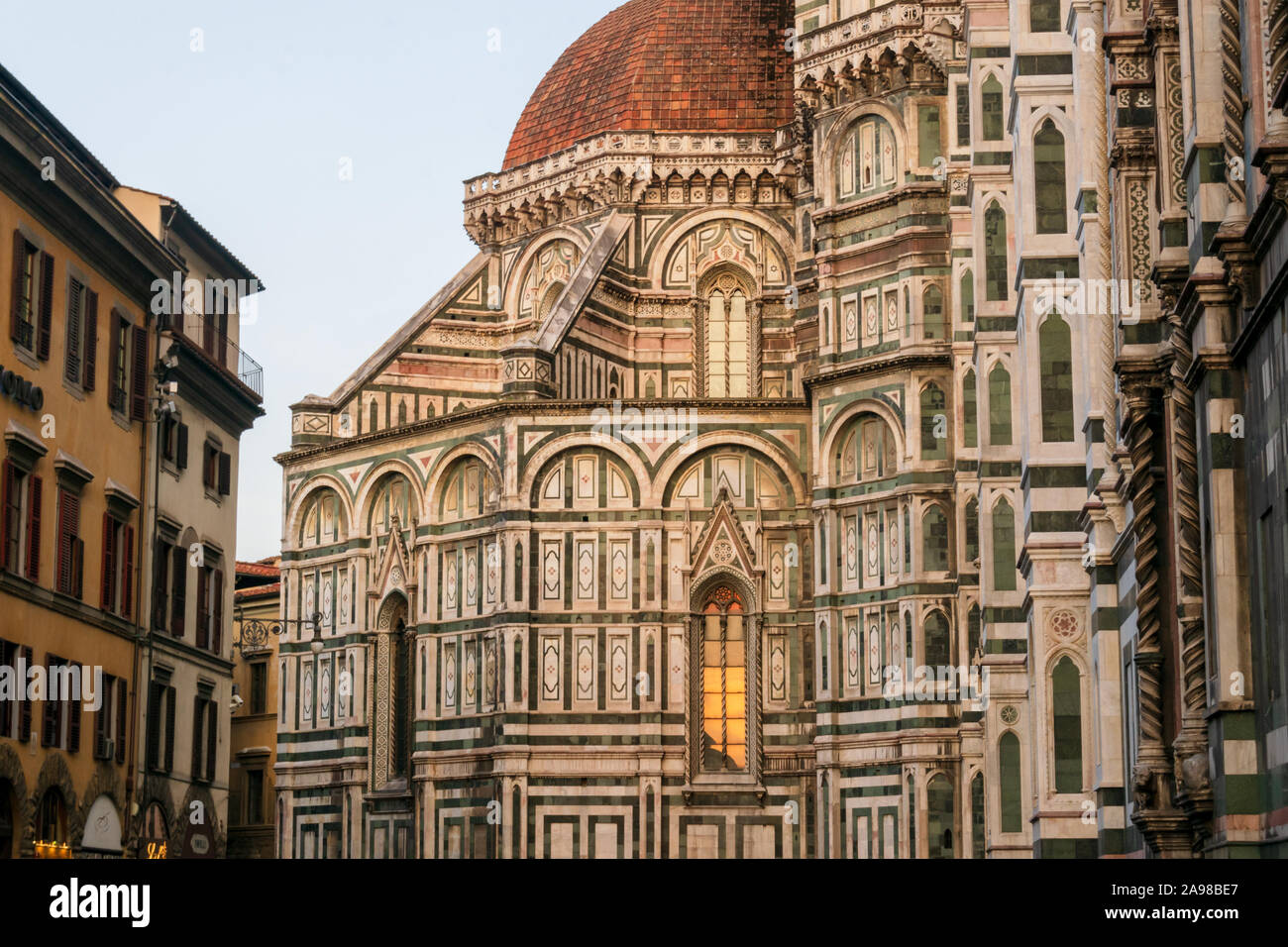 Fiore 98.The Cathedral Of Santa Maria Del Fiore In Florence Tuscany Italy