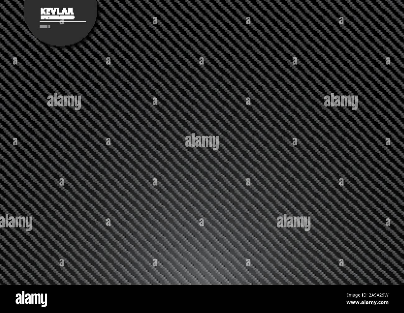 Black Carbon Kevlar Fiber Background And Texture With