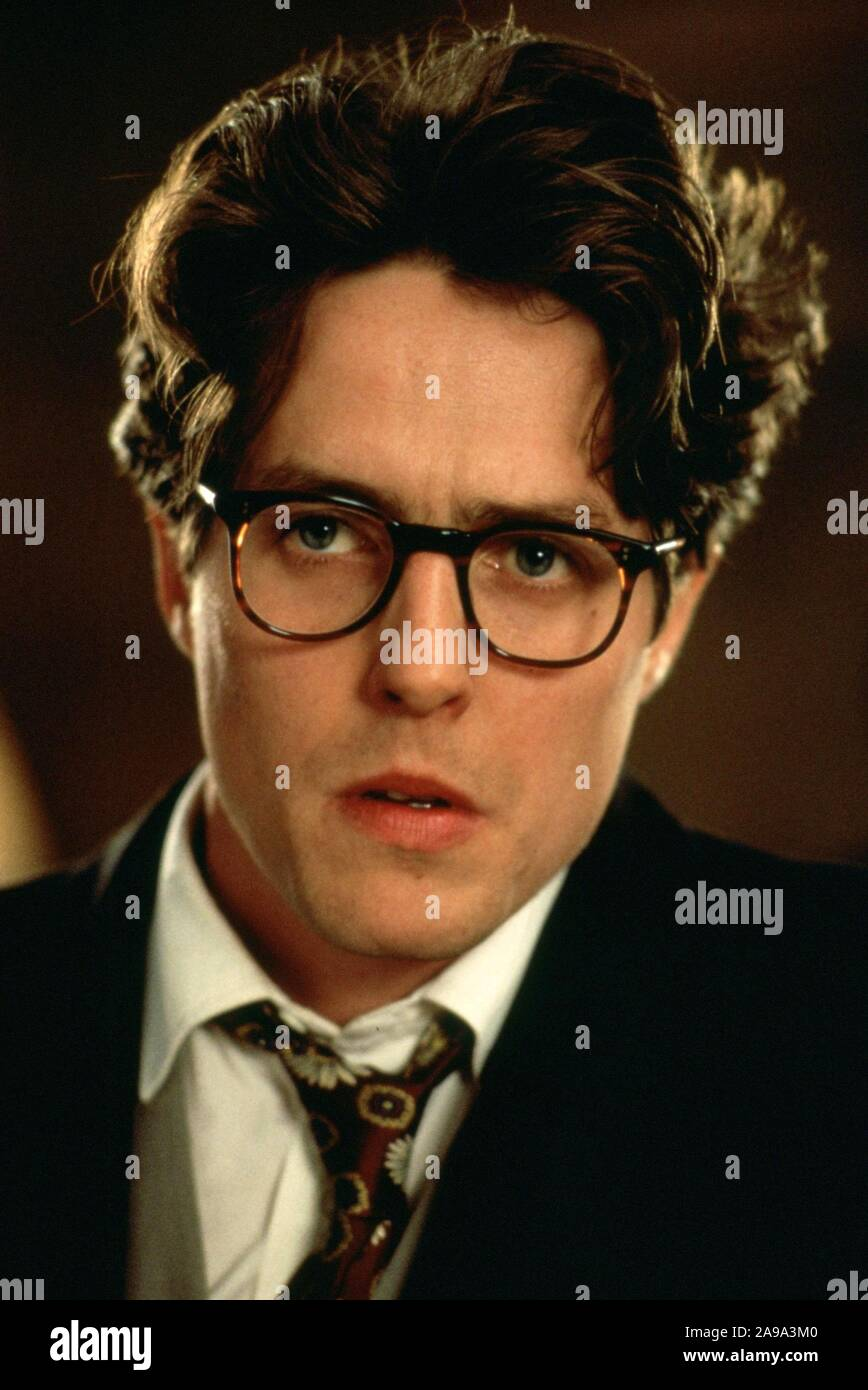 Hugh Grant In Four Weddings And A Funeral 1994 Directed By Mike Newell Credit Gramercy Pictures Album Stock Photo Alamy