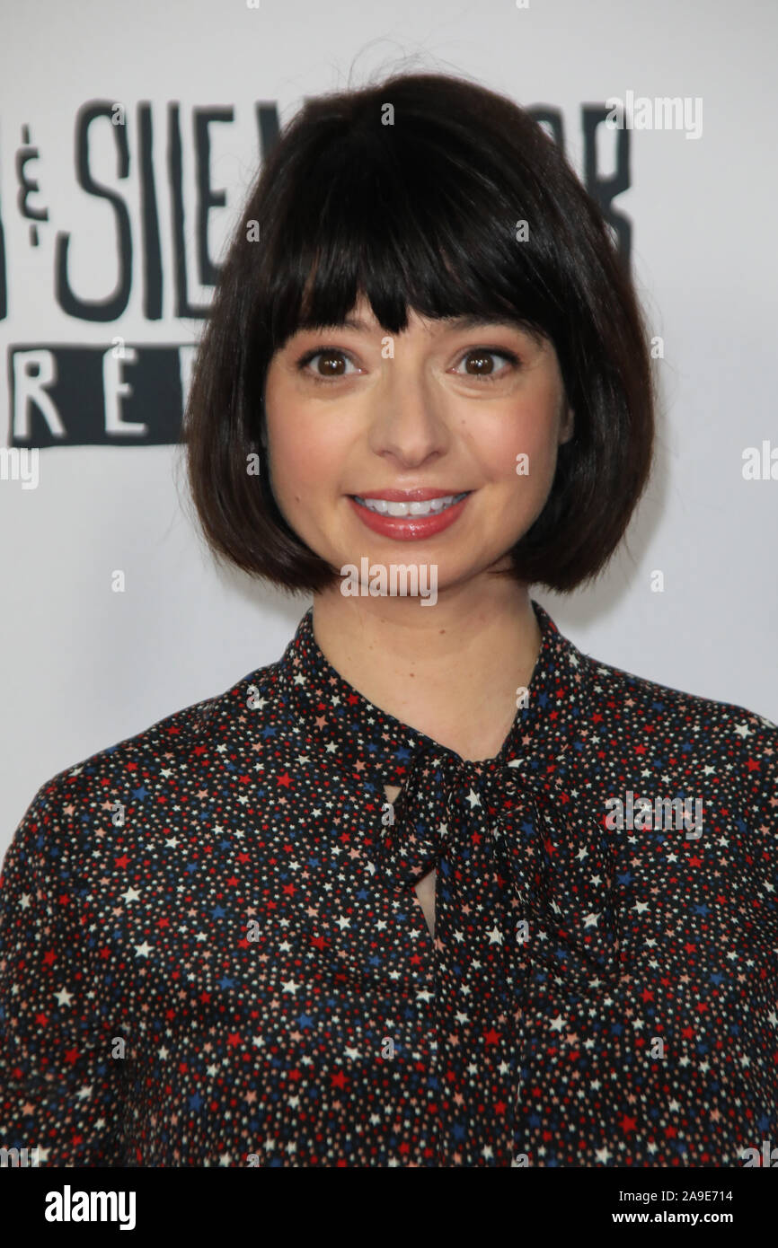 Saban Films 'Jay and Silent Bob Reboot' Los Angeles Screening at the TCL Chinese Theatre in Hollywood, California on October 14, 2019 Featuring: Kate Micucci Where: Los Angeles, California, United States When: 14 Oct 2019 Credit: Sheri Determan/WENN.com Stock Photo