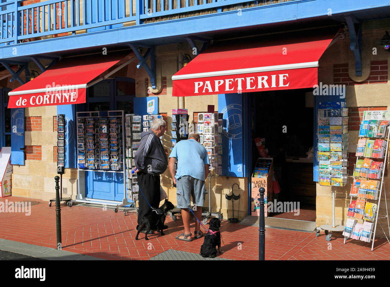 Store in Soulac-sur-Mer, Medoc Atlantique, France Stock Photo