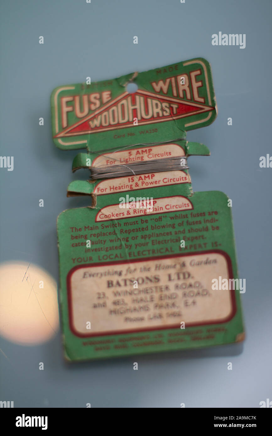 Fuse Wire Stock Photos & Fuse Wire Stock Images - Alamy Old Style Fuses And Fuse Box on 100 amp fuse box, screw in fuse box, antique fuse box, glass fuse box, 30 amp fuse box, murray fuse box, automotive fuse box, plug fuse box, solar fuse box,