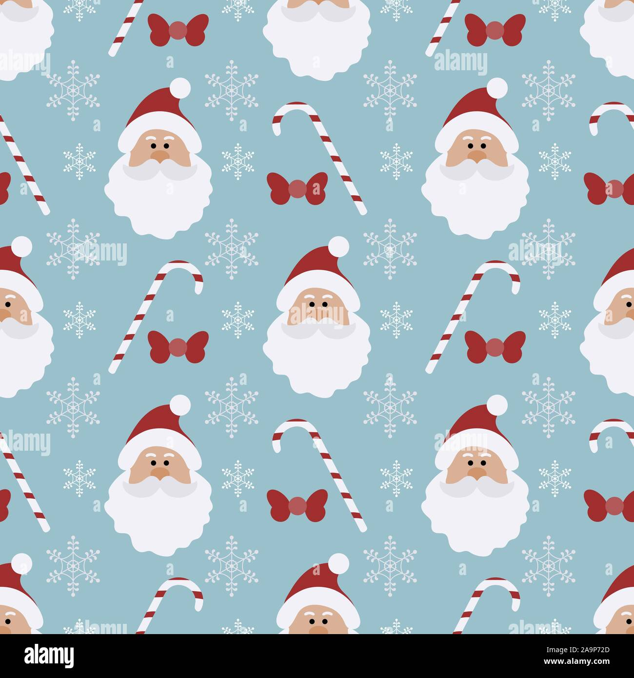 Candy Christmas 2020 Happy new year 2020, Merry Christmas. Vector seamless pattern with