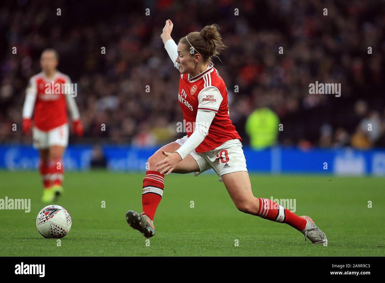 London, UK. 17th Nov, 2019. Kim Little of Arsenal Women in action. Barclays FA Women's super league match, Tottenham Hotspur women v Arsenal women at The Tottenham Hotspur Stadium in London on Sunday 17th November 2019. this image may only be used for Editorial purposes. Editorial use only, license required for commercial use. No use in betting, games or a single club/league/player publications . pic by Steffan Bowen/Andrew Orchard sports photography/Alamy Live news Credit: Andrew Orchard sports photography/Alamy Live News Stock Photo