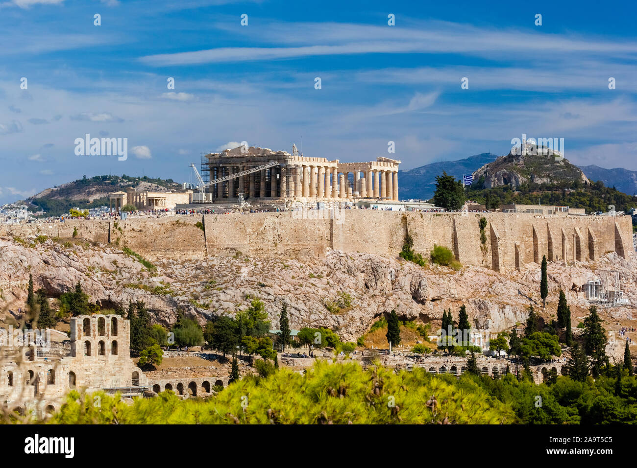 Griechenland, Athen, Akropolis, Partheneon, Stock Photo