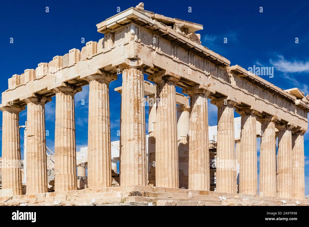 Griechenland, Athen, Akropolis Stock Photo