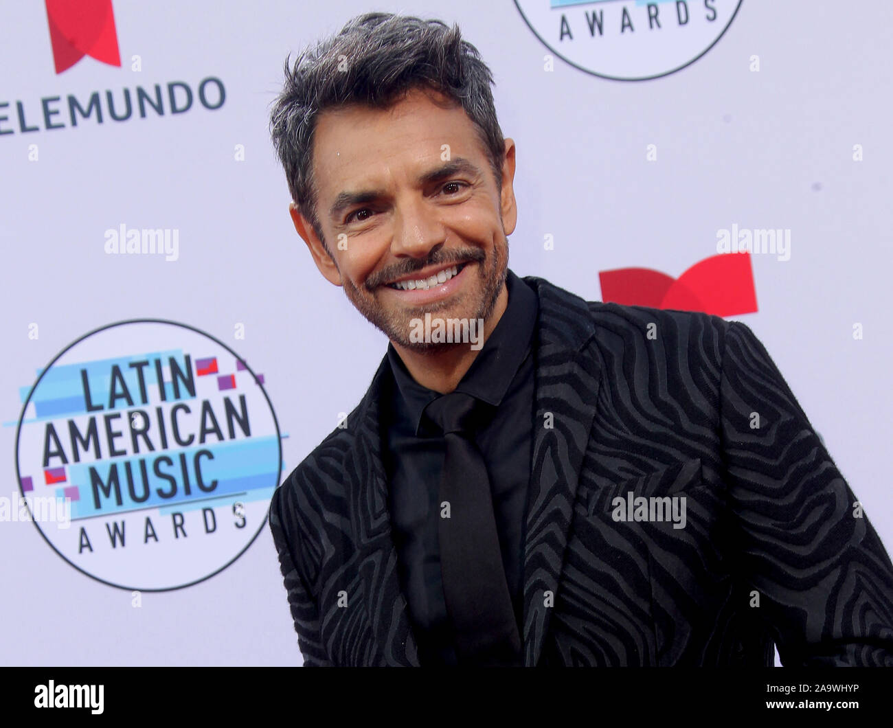 Latin American Music Awards 2019 held at the Dolby Theatre in Hollywood, California. Featuring: Eugenio Derbez Where: Los Angeles, California, United States When: 17 Oct 2019 Credit: Adriana M. Barraza/WENN.com Stock Photo