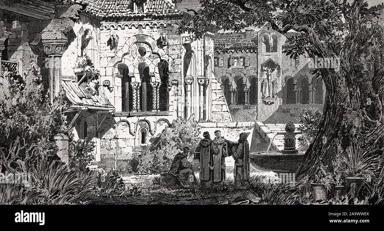 Maulbronn Monastery, Cistercian abbey, Maulbronn, Germany Stock Photo