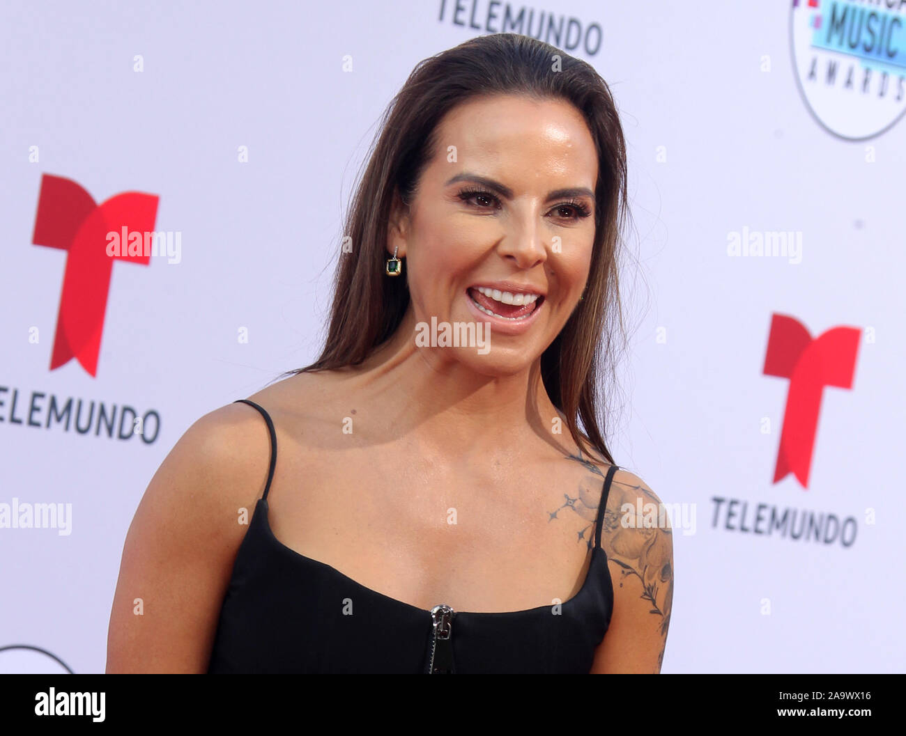 Latin American Music Awards 2019 held at the Dolby Theatre in Hollywood, California. Featuring: Kate del Castillo Where: Los Angeles, California, United States When: 17 Oct 2019 Credit: Adriana M. Barraza/WENN.com Stock Photo