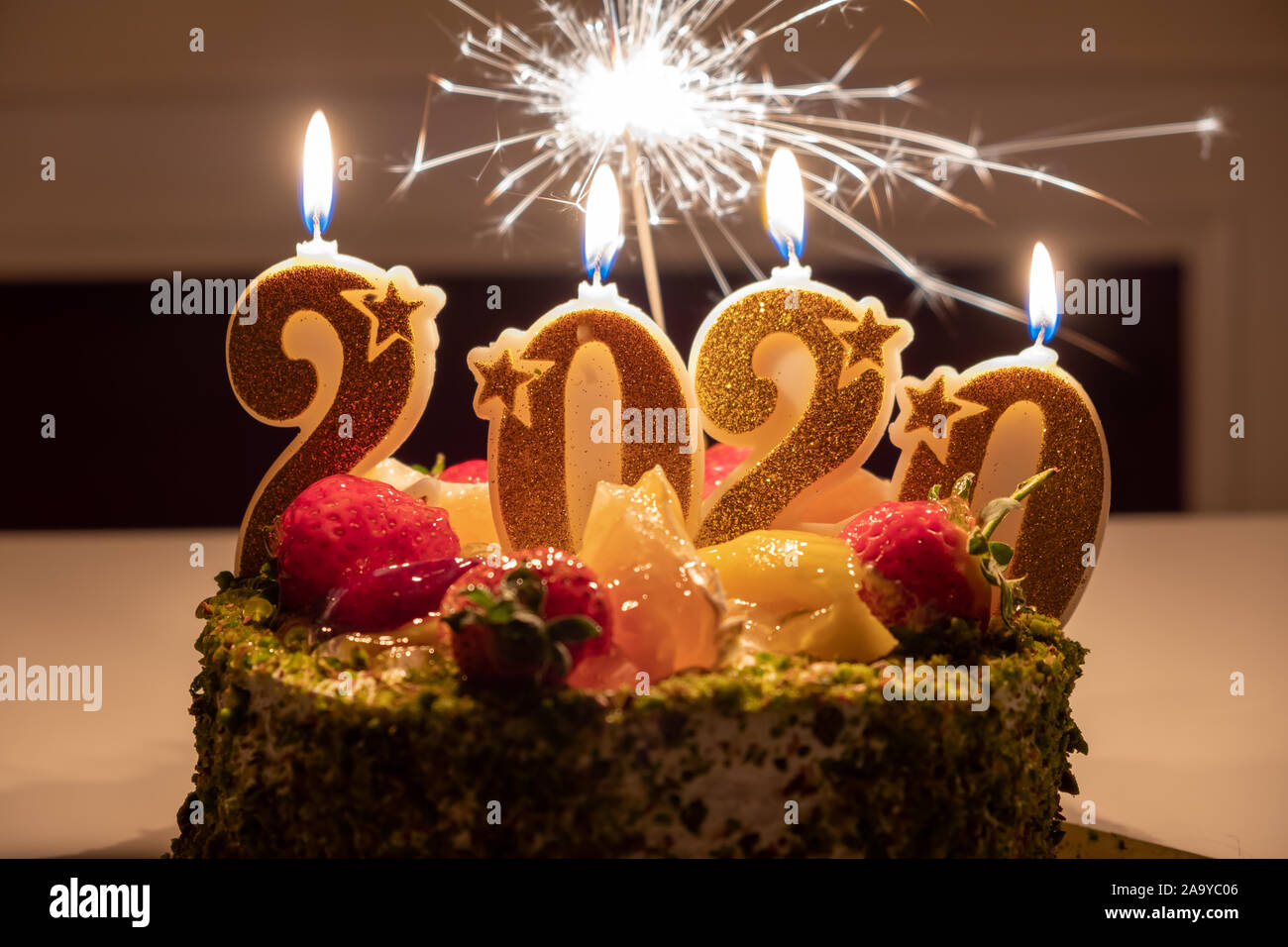 happy new year 2020 high resolution stock photography and images alamy https www alamy com close up of birthday cake with candles shaped number 2020 happy new year 2020 image333131014 html