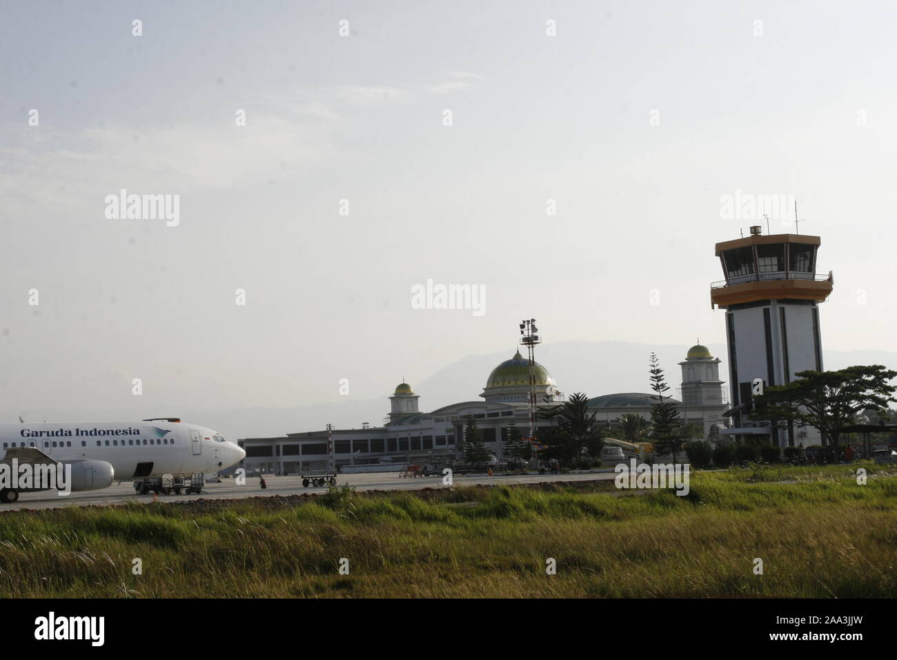 Banda Aceh Aceh Indonesia October 31 2008 Development Of Banda Aceh Airport On The Island Of Sumatra Indonesia After A 3 Year Tsunami Tragedy Stock Photo Alamy