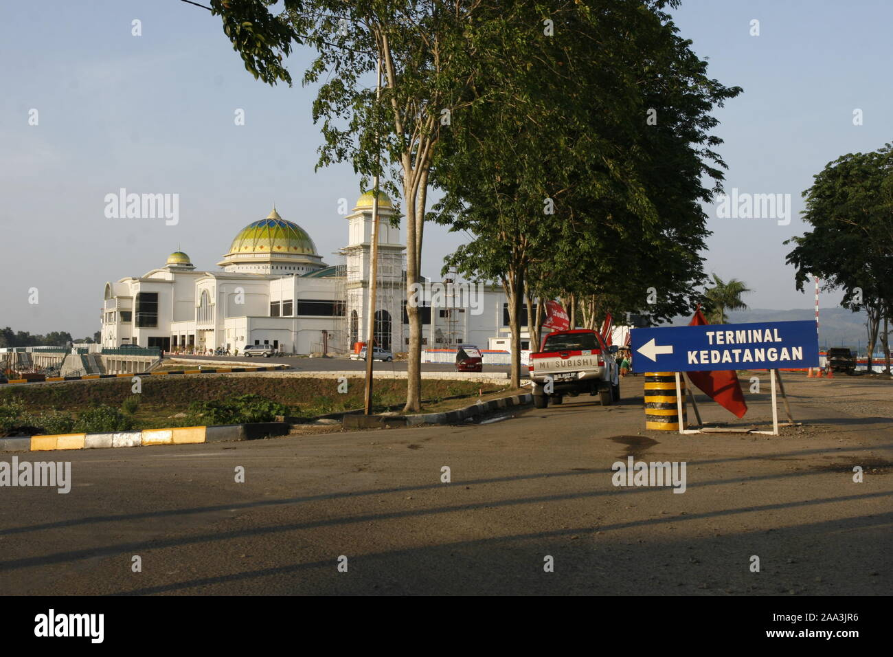 Aceh Airport Construction High Resolution Stock Photography And Images Alamy