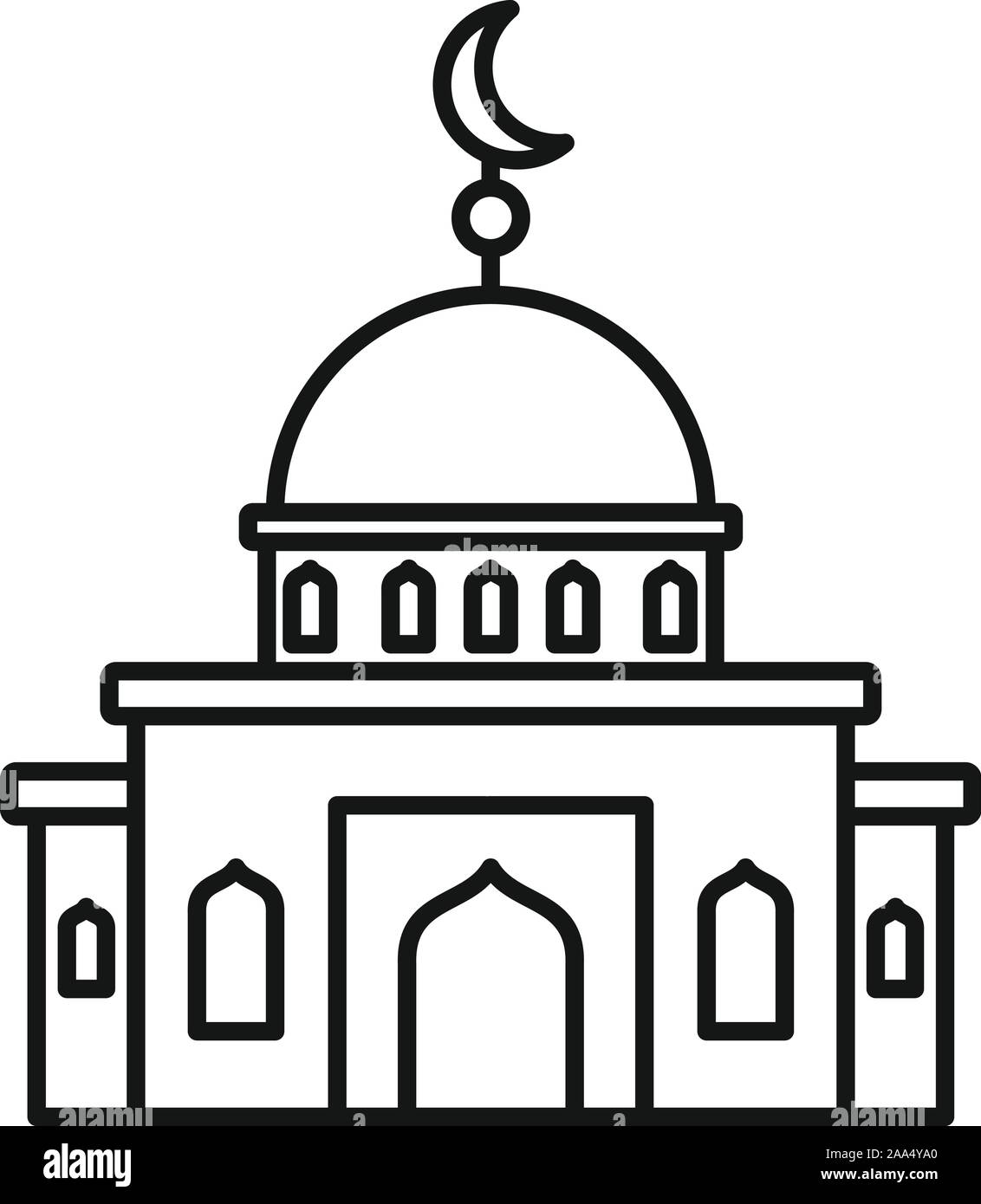 islam mosque icon outline islam mosque vector icon for web design isolated on white background stock vector image art alamy https www alamy com islam mosque icon outline islam mosque vector icon for web design isolated on white background image333252808 html