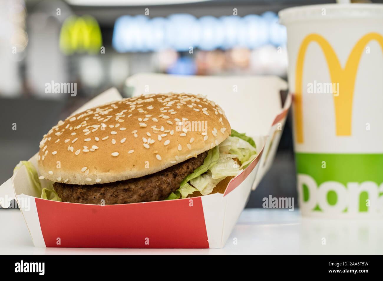 China Coke 2019 Mcdonalds Mcdonald/'s Big Mac Can