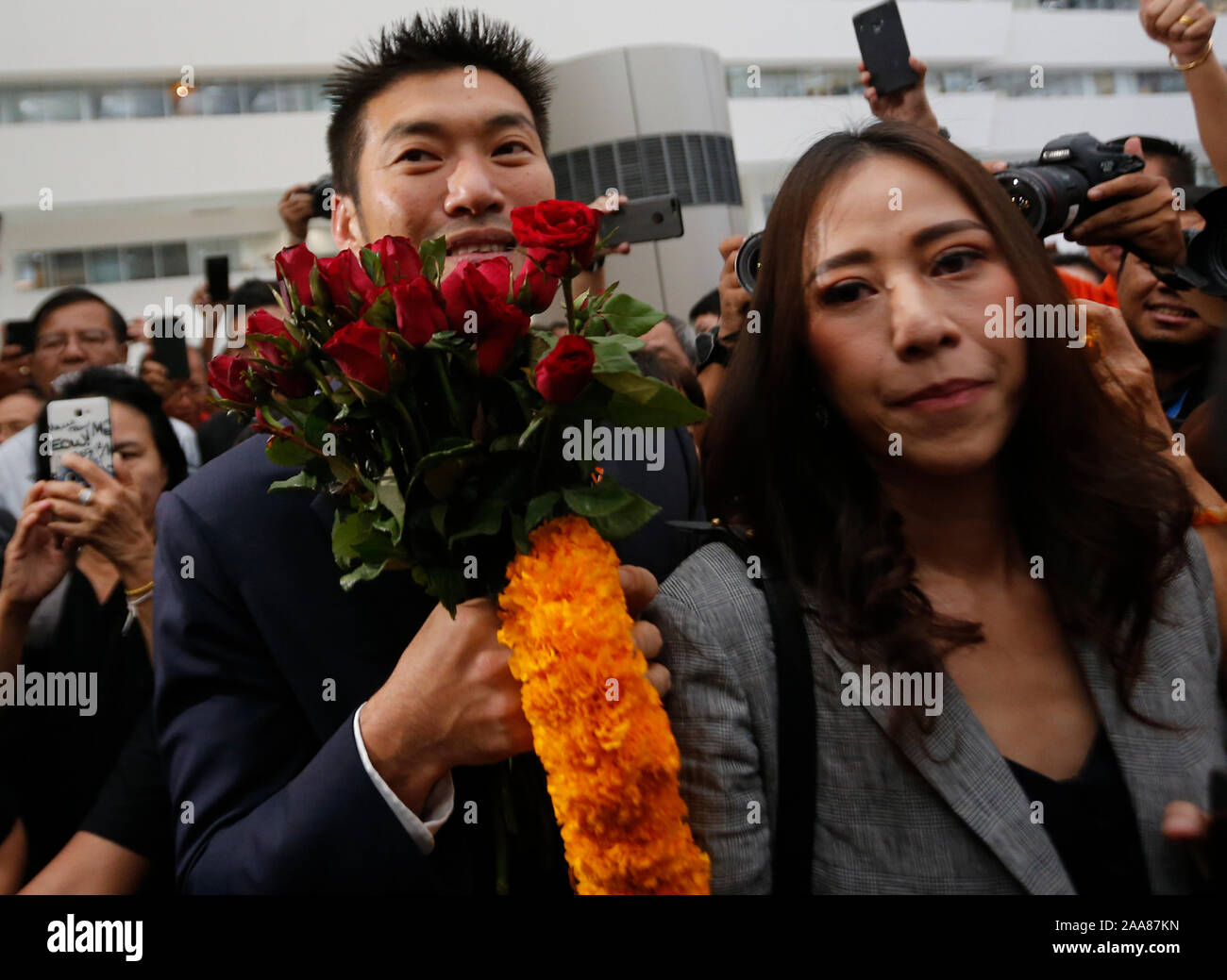beautiful thai girls  Seven Questions and Answers to Thai Brides bangkok thailand 20th nov 2019 thanathorn juangroongruangkit with his wife rawiphan juangroongruangkit holding red roses at the constitution courtsupporters wait for thanathorn jungroongruangkit at the constitution court in bangkok the leader of the future forward party lost his mp status after the constitutional court found him guilty of violating the constitution by still holding shares in a media company when he registered to run in the march election credit sopa images limitedalamy live news 2AA87KN