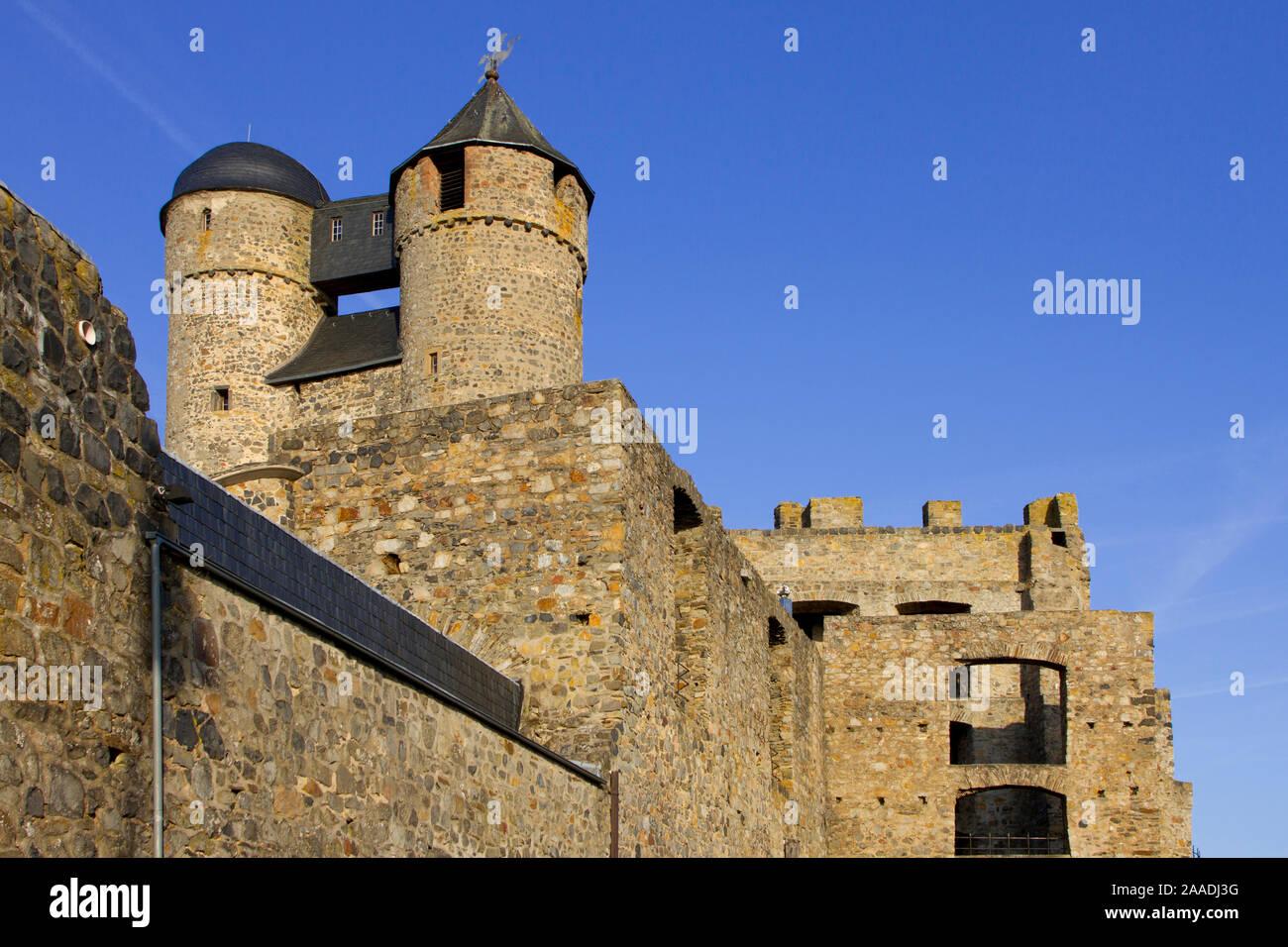 """Bundesrepublik Deutschland,Hessen,Greifenstein,Glockenwelt (pr) bei Veröffentlichung angeben: """"Glockenwelt Burg Greifenstein"""" Stock Photo"""