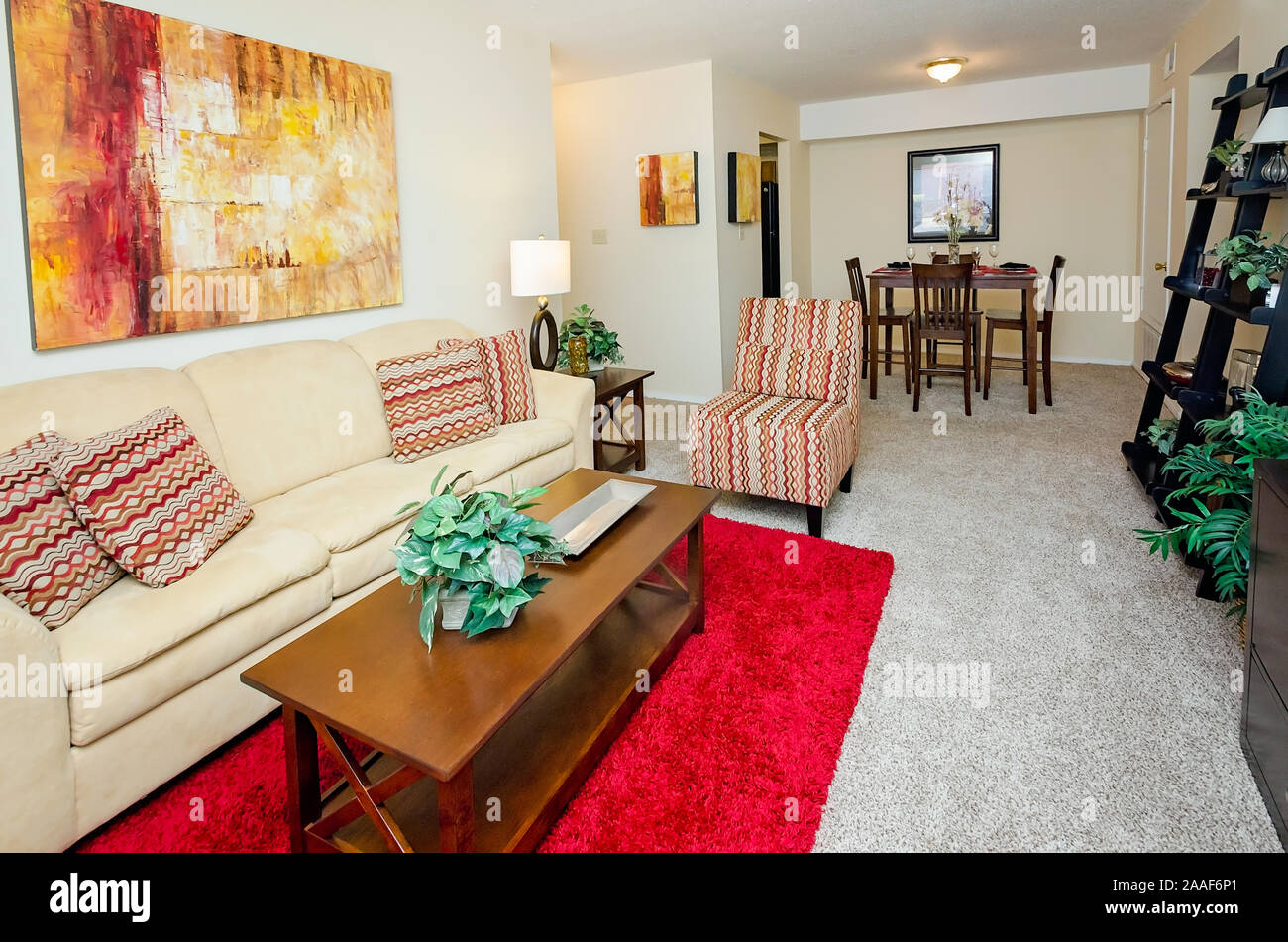 Open Plan Living Room Dining High Resolution Stock Photography And Images Alamy
