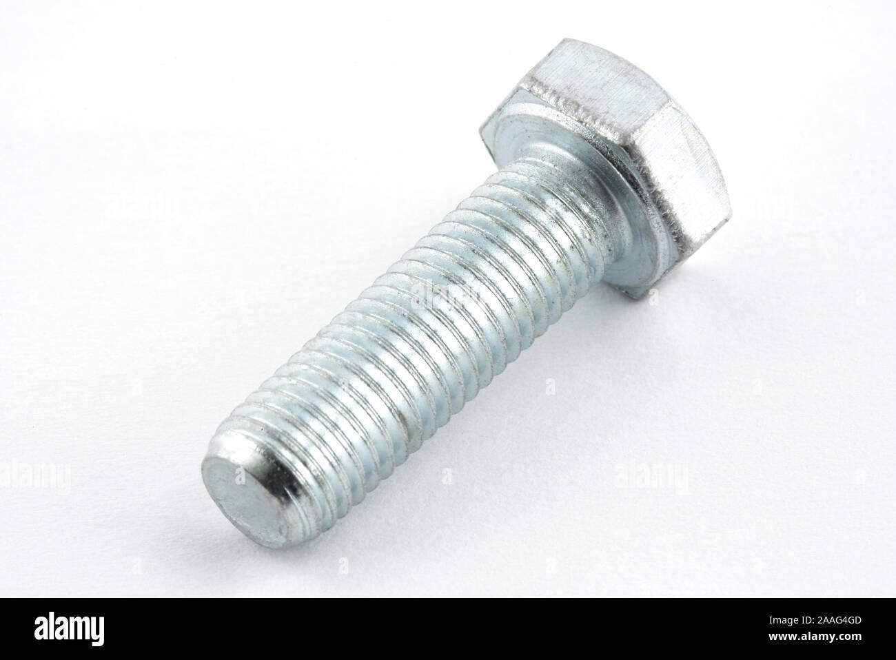 crome bolt on white background Stock Photo