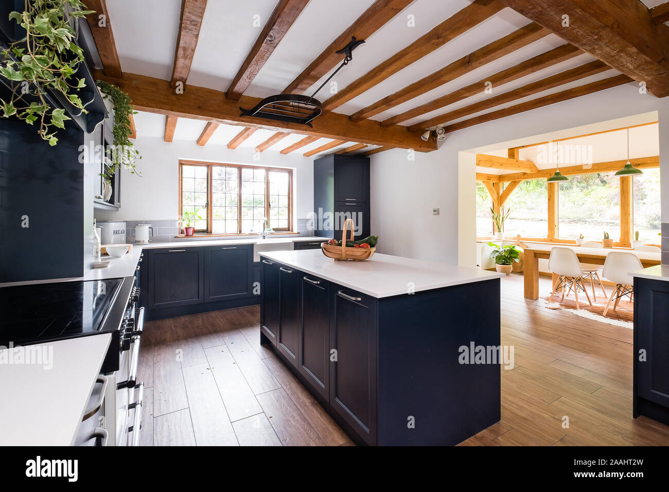 Modern Kitchen Diner High Resolution Stock Photography And Images Alamy