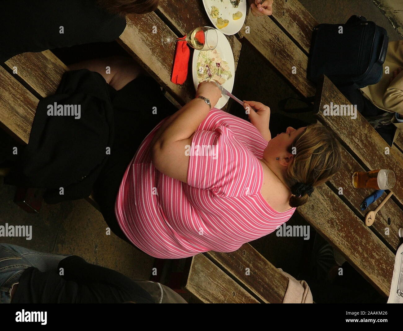 Obesity, medical condition, public health issue Stock Photo