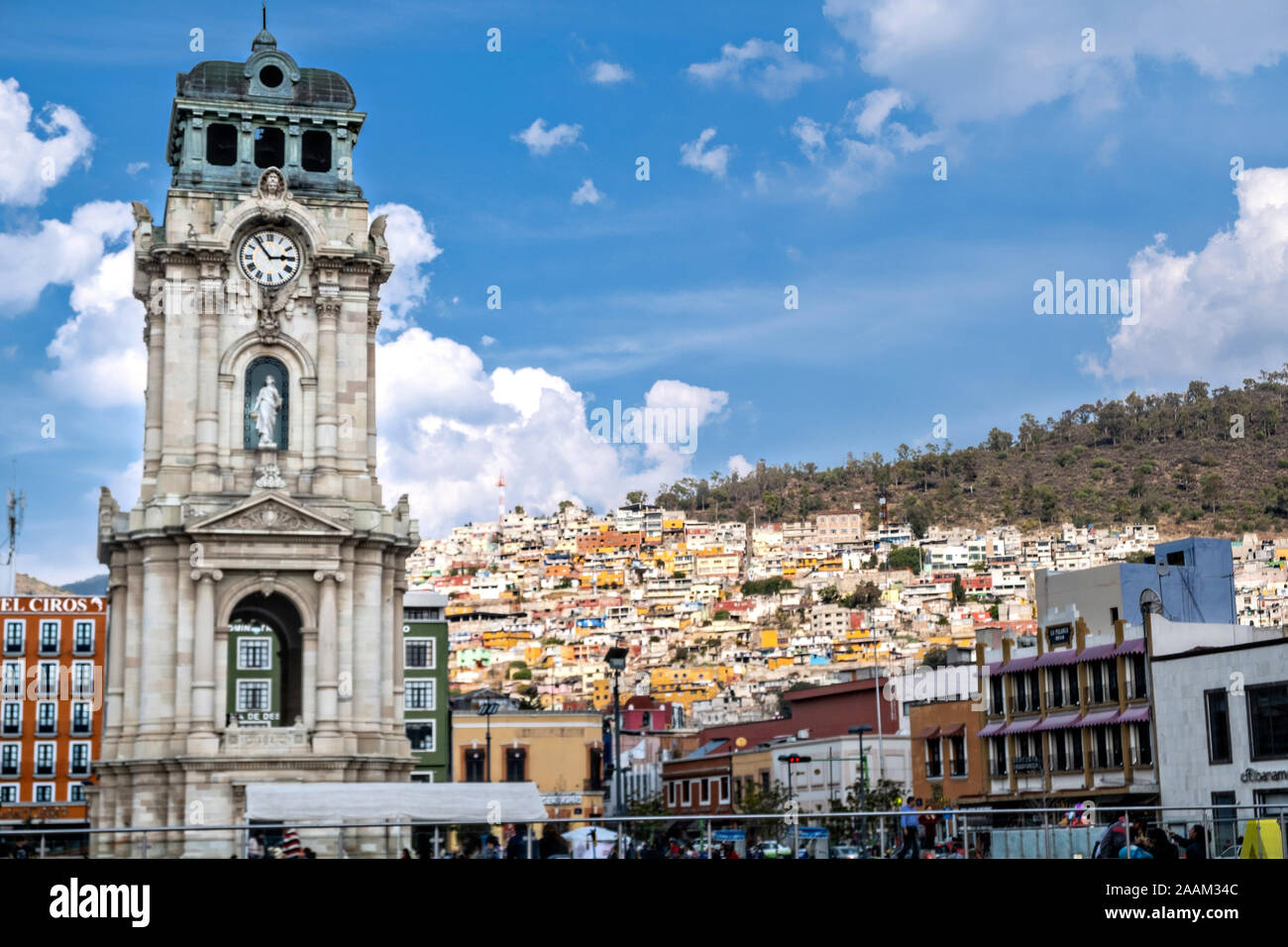 The Clocktower Monument Called Reloj Monumental De Pachuca In