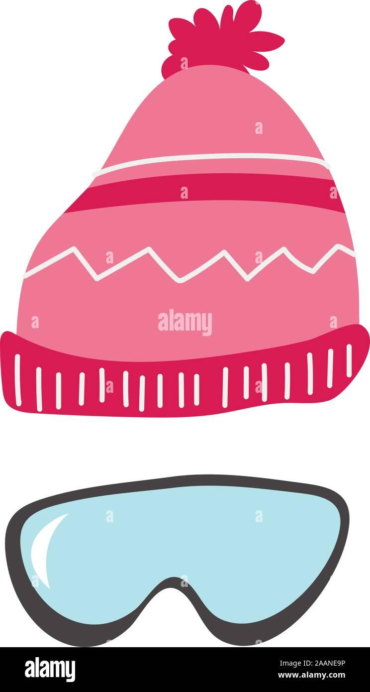 "Sportsman 8/"" Pink Beanie Hat Cap Winter Snowboarding Skiing"