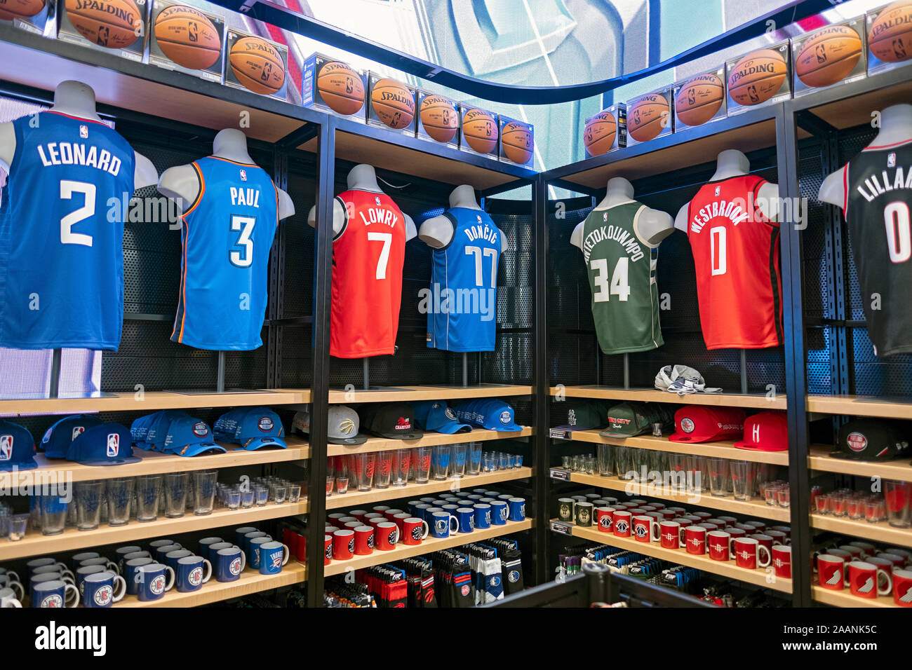Jerseys, caps, mugs, hats and other merchandise for sale at the ...